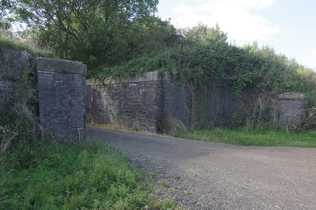 Bridleway at Onley