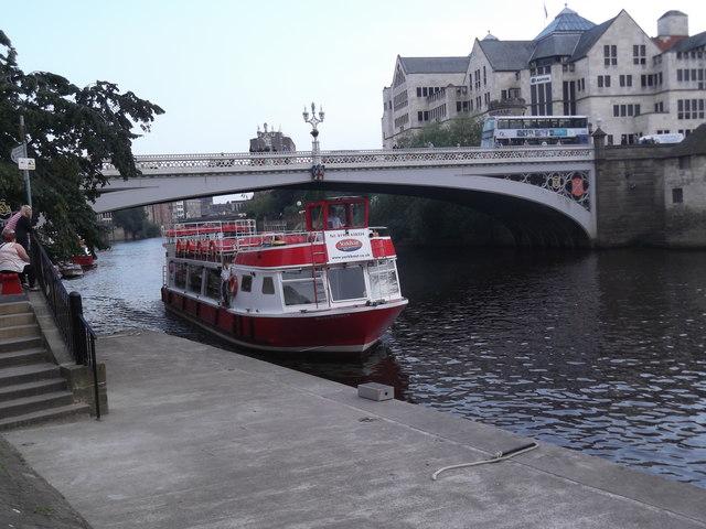 York Boat 'River Prince', Lendal Bridge