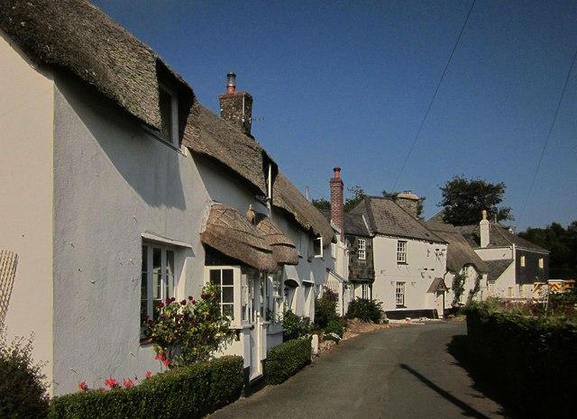 Village street, Stokenham
