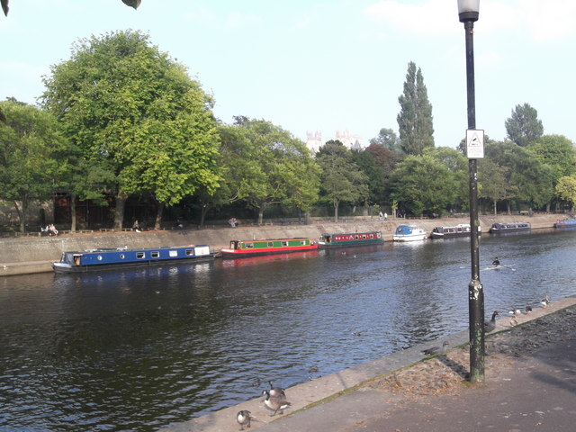 Barges on the Ouse, York