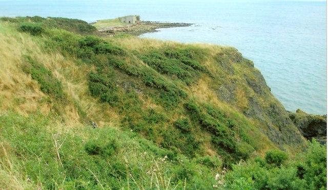 Site of Black Jack Castle, parish of Craig, Montrose