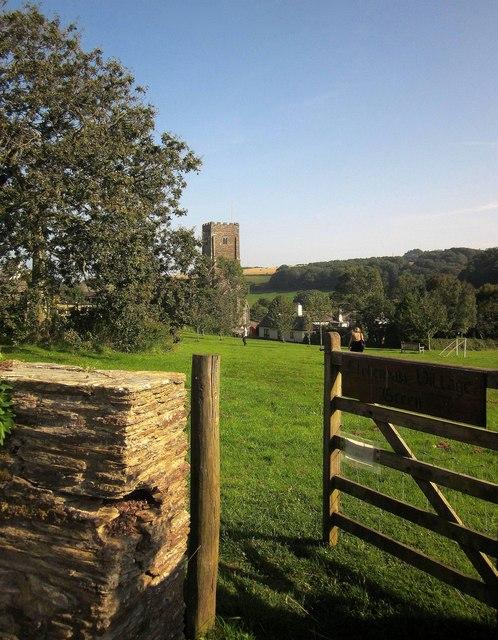 Stokenham village green