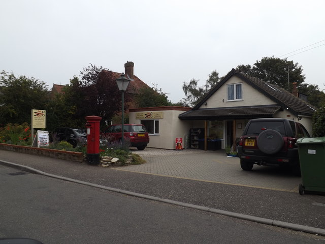 Cringleford Post Office & Postbox