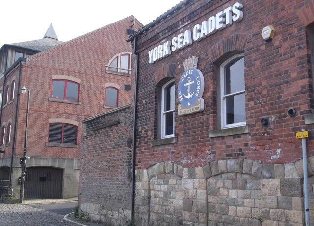 'T.S. York', York Sea Cadets, Skeldergate