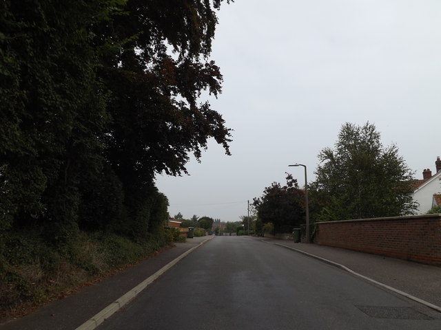 Intwood Road, Cringleford