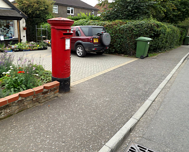 Cringleford Post Office Postbox