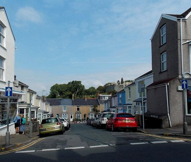 Castle Square, Mumbles, Swansea