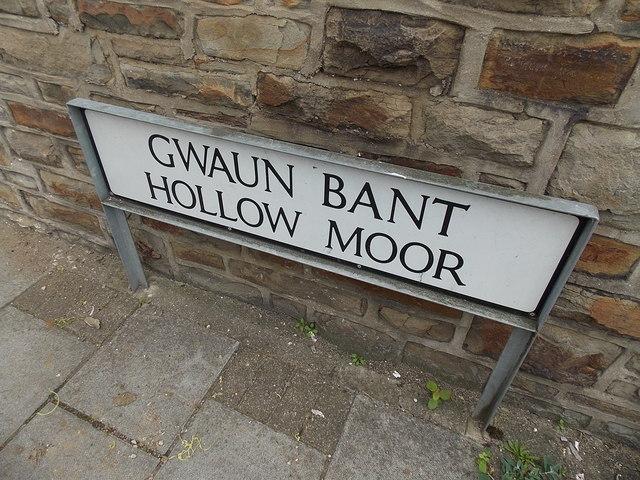 One street, two Welsh names, Pontycymer