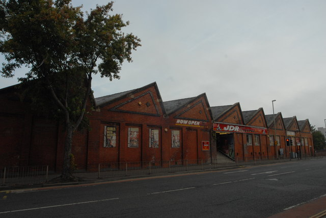 Last remnants of the Gloucester Carriage & Wagon Company works