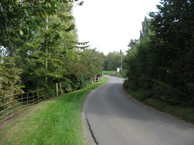 Minor road at Talton Mill