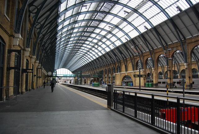 Deserted, King's Cross Station