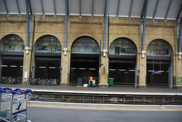 Arches, King's Cross Station