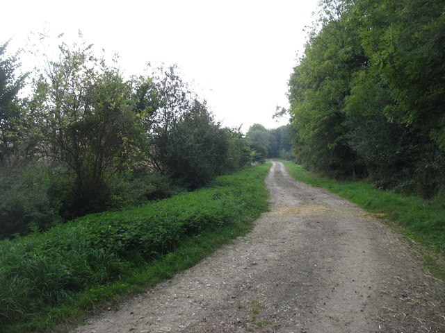 The bridleway to Halford