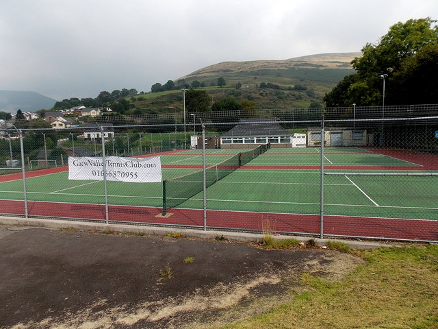 Garw Valley Tennis Club, Pontycymer