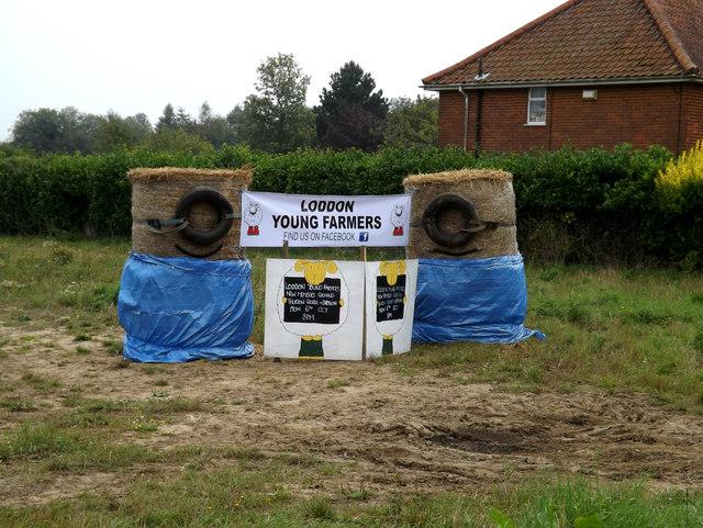 Loddon Young Farmers display