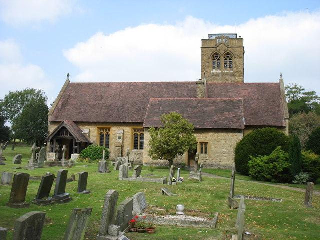 Holy Trinity and St Thomas of Canterbury church, Ettington