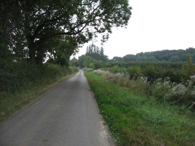 The lane to Pillerton Priors