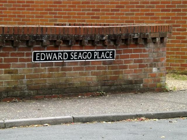 Edward Seago Place sign
