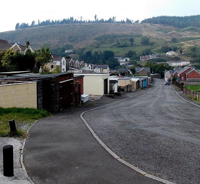 Down Federation Lane, Pontycymer