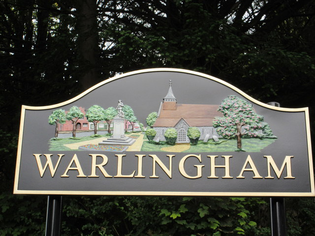 Warlingham Village Sign