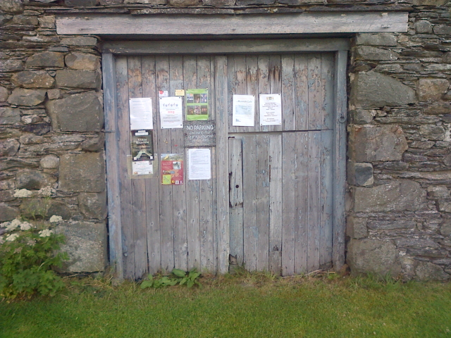 Barn Door/Village Notice Board, Applethwaite