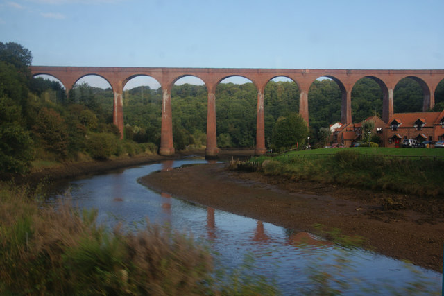 Viaduct over the River Esk near Whitby