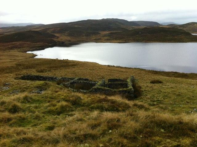 Overlooking Llyn-Conglog-mawr