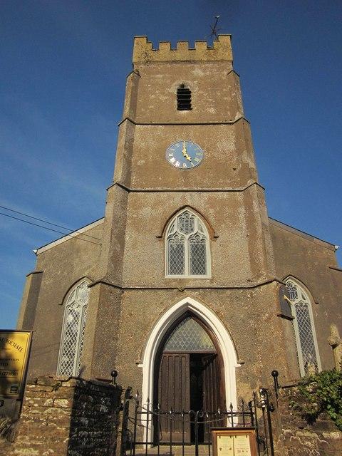 Church tower, Strete