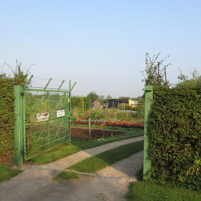 Ruddington: Buttercup Allotments