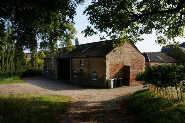 Farm buildings at Cadeby
