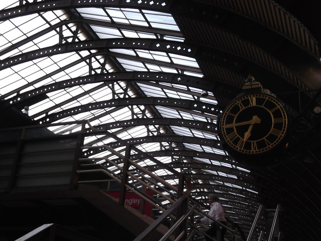 Clock, York Railway Station