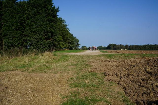 Path leading to Ludborough