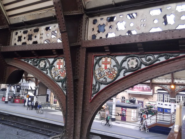 Ironwork, York Railway Station