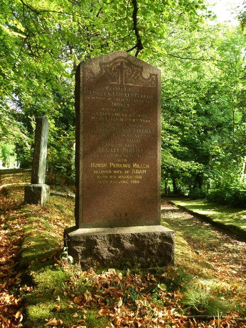 In memory of Thomas Perkins killed in the Glen Cinema Disaster 31st Dec. 1929