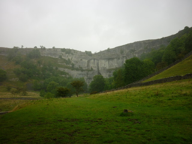 Malham Cove from Bombey's Barn