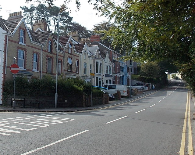 Langland Road houses, Mumbles, Swansea