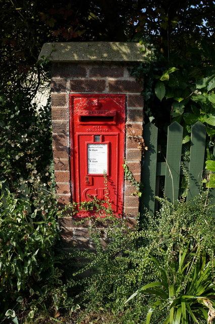 Georgian Postbox on Chapel Lane, Ludborough