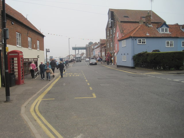 The Quay from Freeman Street, Wells-next-the-Sea