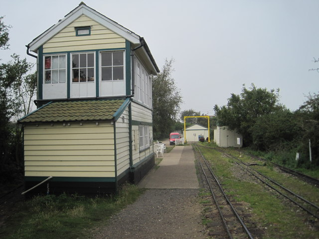 Wells-on-Sea railway station, W&WR