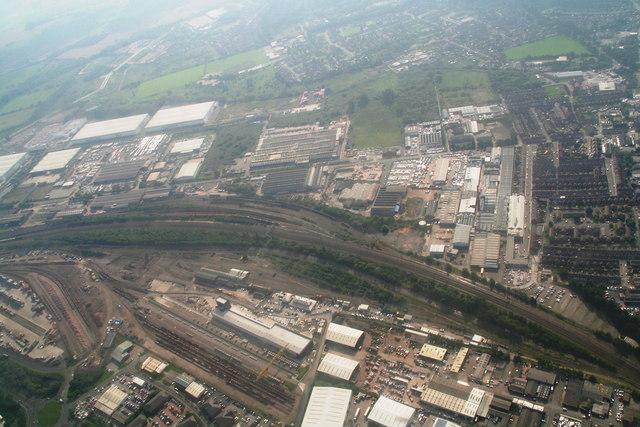 Doncaster Railport: aerial 2014