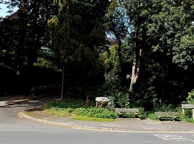 Roadside benches, Mumbles, Swansea