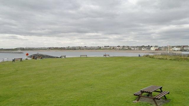 Newbiggin Bay from Church Point