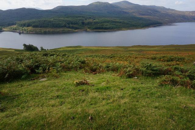 View towards Loch Errochty