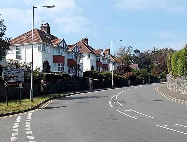 Southward Lane, Langland, Swansea