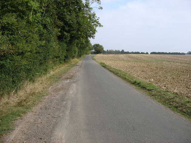 The lane from Combrook to Kineton