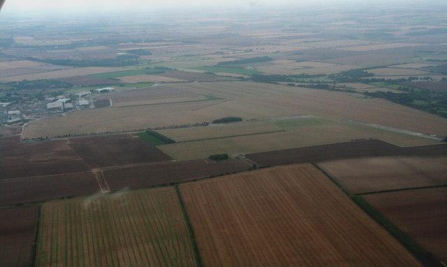 Former R.A.F. Hemswell: aerial 2014