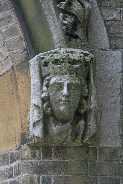 All Saints, Upper Norwood - Label head