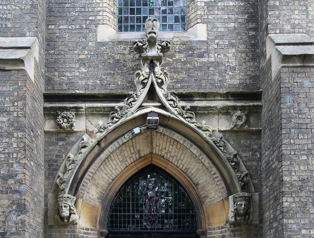 All Saints, Upper Norwood - West doorway