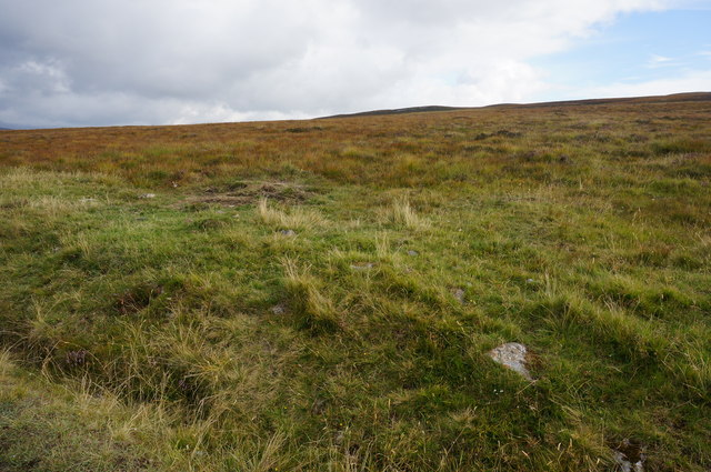 Lower slopes of Meall Dial-chealach