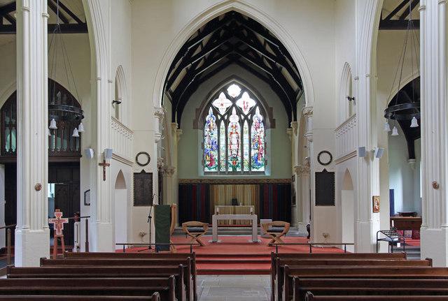 All Saints, Upper Norwood - East end